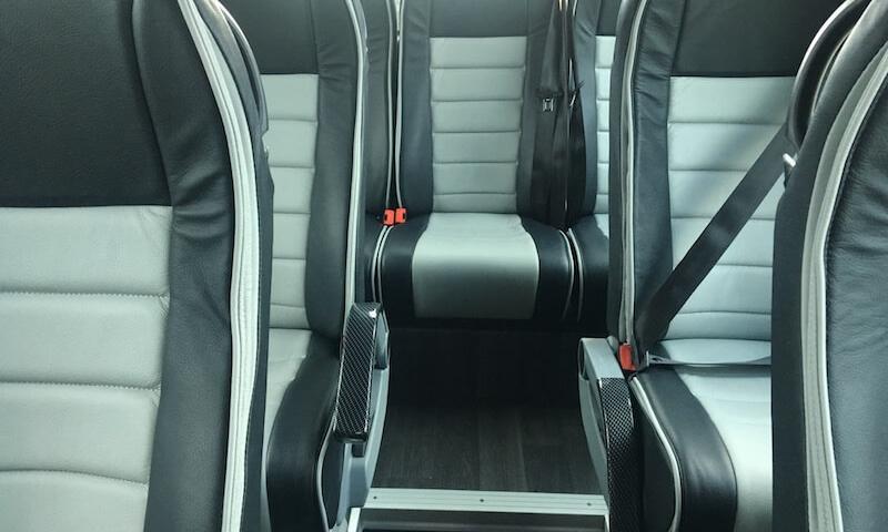 minibus seating