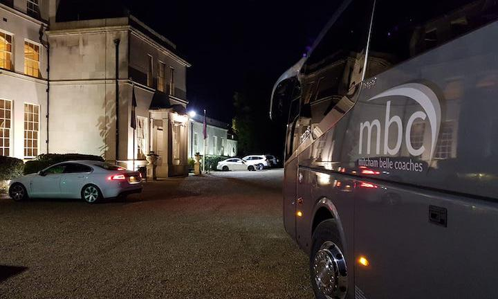 57 seater luxury coach
