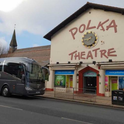School Trip by Coach to Polka Theatre in Wimbledon, London