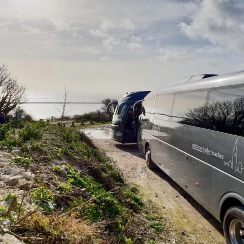 Private coach hire to the beach