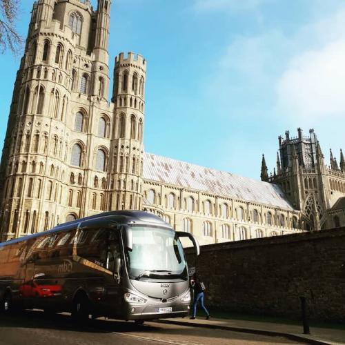 Coach hire for city tours