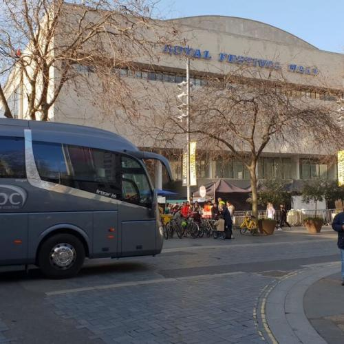 Coach hire to Royal Festival Hall, London